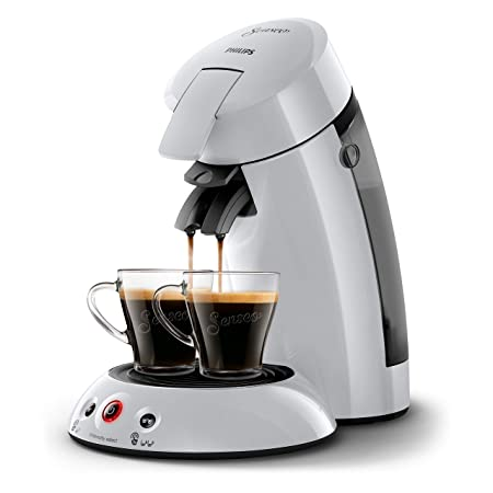 Senseo Original HD6554/51 - Cafetera (Independiente, Máquina de café en cápsulas, 0,7 L, Dosis de café, 1450 W, Gris)