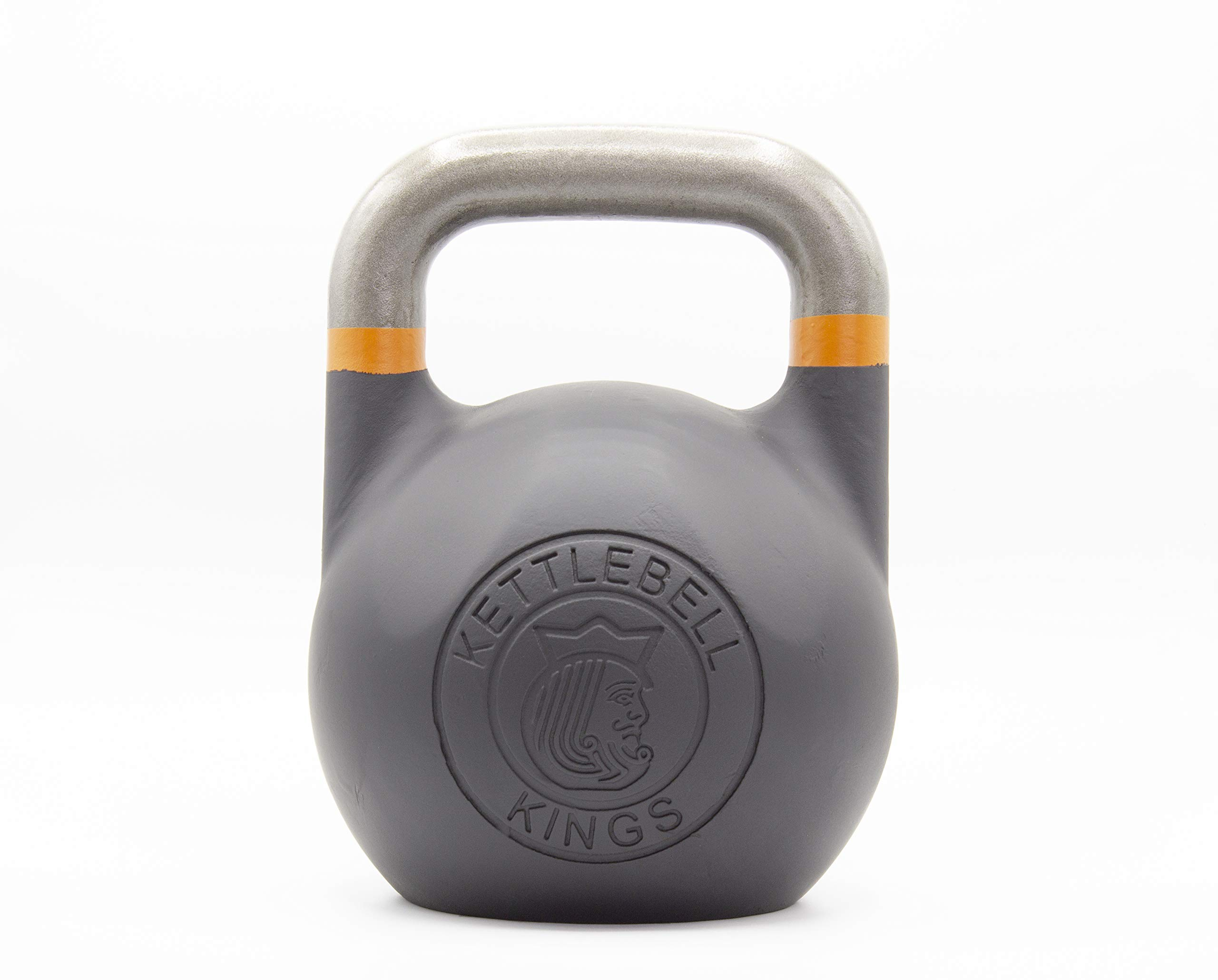 Kettlebell Kings | Kettlebell Weights | Competition Kettlebell Weight Sets for Women & Men | Built in American Style | Same Size & Dimension Across All Weights (55)