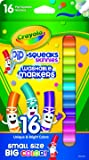 Crayola Pip-Squeaks Skinnies Washable Markers, Assorted Colors 16 ea (Pack of 2)
