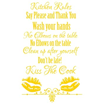Gskitchenrules13 Kitchen Rules Say Please And Thank You Wash Your