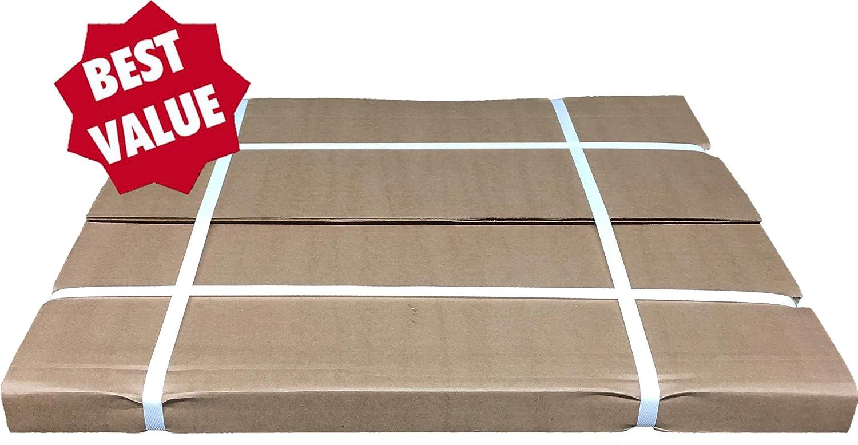 AutoMat Heavy Duty Premium Reinforced Plastic Coated Disposable Paper Automotive Floor Mat Case of 500