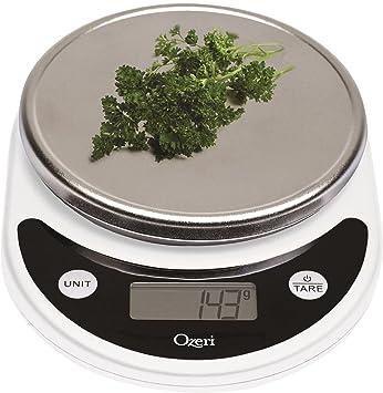 Ozeri Pronto Digital Multifunction Kitchen And Food Scale White