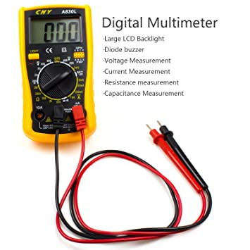 Amazon.com: Ziss Soldering Iron Tool Kit Electronics Adjustable Temperature Welding Tool with Digital Multimeter, 5pcs Soldering Tips and 328pcs Heat Shrink ...