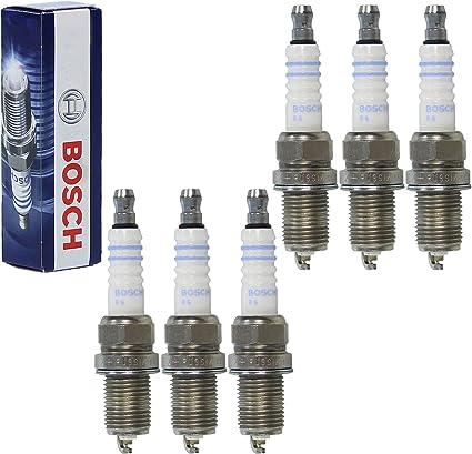 6 bujías originales de Bosch FR8DCX+.: Amazon.es: Coche y moto