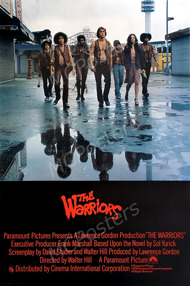 "MCPosters The Warriors 1979 GLOSSY FINISH Movie Poster - MCP274 (24"" x 36"" (61cm x 91.5cm))"