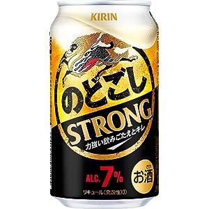 【新ジャンル/第3のビール】キリン のどごし STRONG(ストロング) [ 350ml×24本 ]