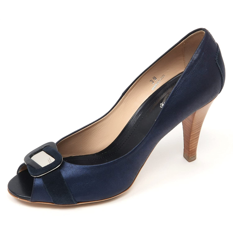 Tod's C3708 Decollete Decollete Decollete spuntato damen Scarpa Blau schuhe Woman 6191ee