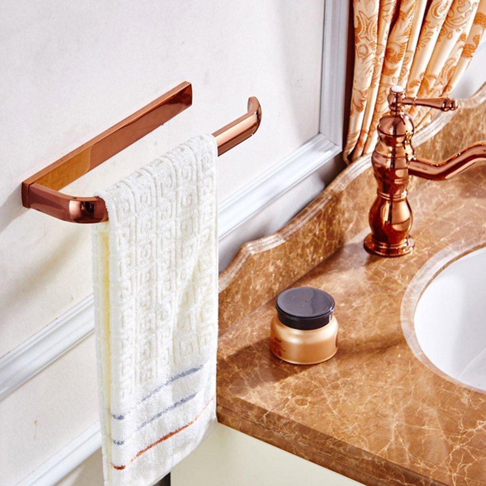 Aothpher salle de bain chrome poli porte-serviettes porte-serviettes