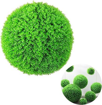 SYLTL Simulación Verde Planta Hierba Bola de Hierba Boda Hotel Jardín Decoración Planta Bola Lceiling Decoración Flor Bola,60cm: Amazon.es: Hogar