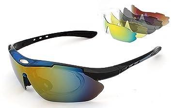 Horbous Gafas de Sol polarizadas para Deporte, para ...