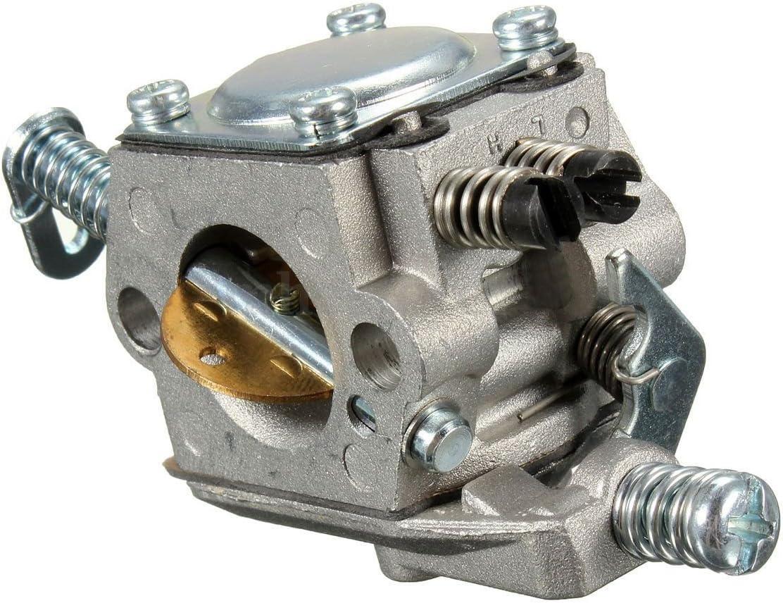 TOOGOO Carb carburador Para STIHL 025 023 021 MS250 MS230 reemplazo de motosierra zama walbro de color de plata