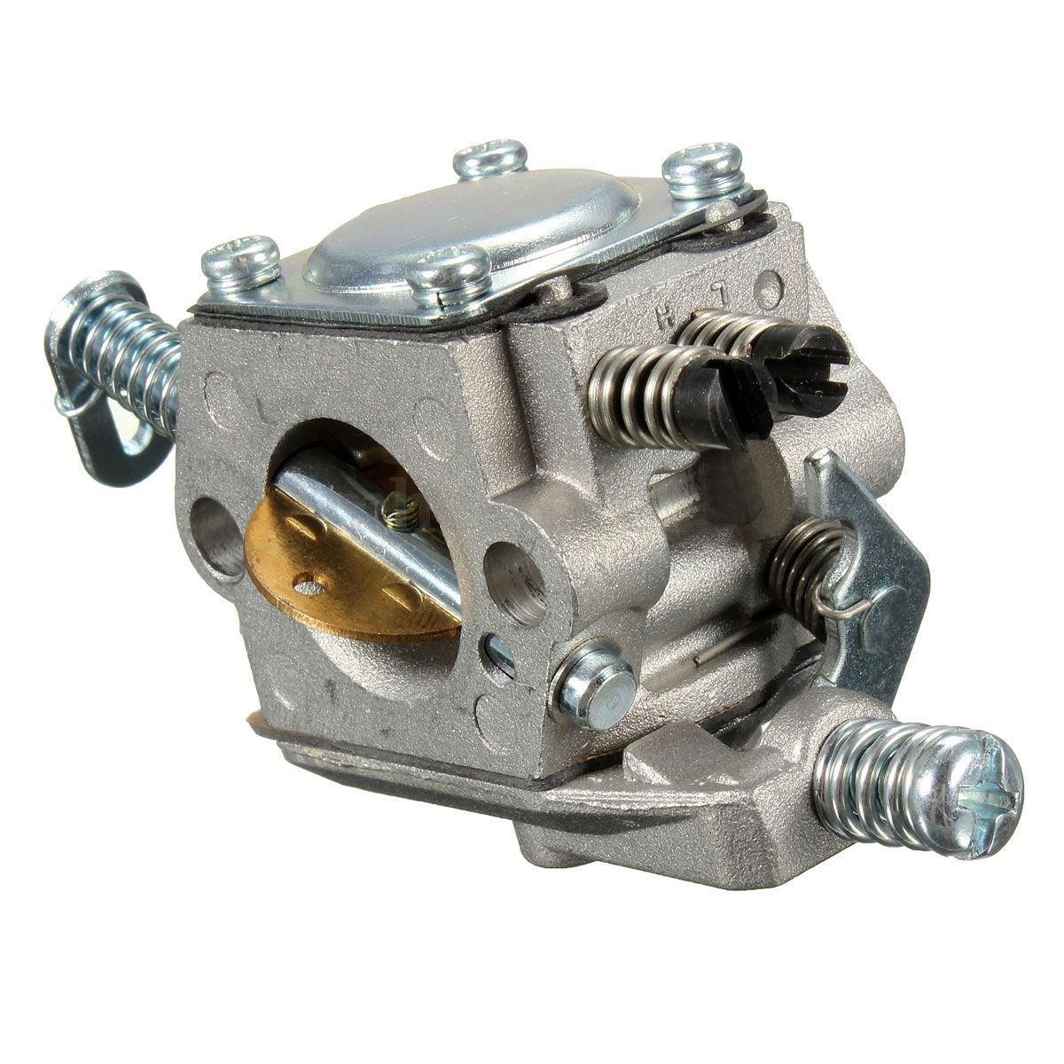 Carburador - TOOGOO(R)Carb carburador Para STIHL 025 023 021 MS250 MS230 reemplazo de motosierra zama walbro de color de plata SPAGMA46464