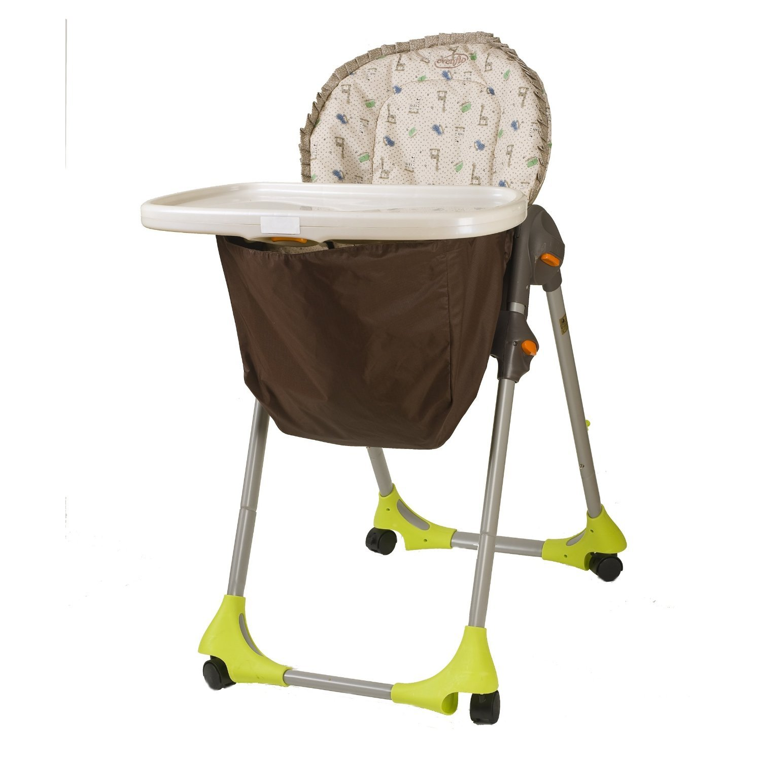 Wupzey High chair Food Catcher Hot Cocoa Amazon Baby