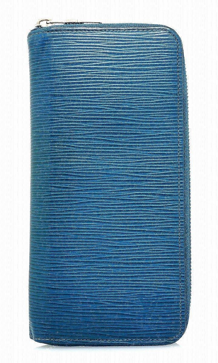 [ルイ ヴィトン] LOUIS VUITTON エピ ジッピーウォレット ヴェルティカル ラウンドファスナー 長財布 ブルーセレスト 青 ブルー M60966 B0794T91HB