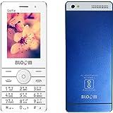Bloom Selfie Keypad Feature 6.1 cm Phone With Camera 3.5 mm Audio Jack, 1400 mAh Battery(Blue)