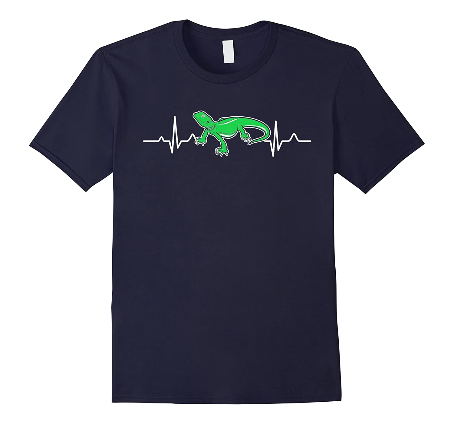 Bearded Dragon T shirt - Bearded Dragon Heartbeat Shirt-TD