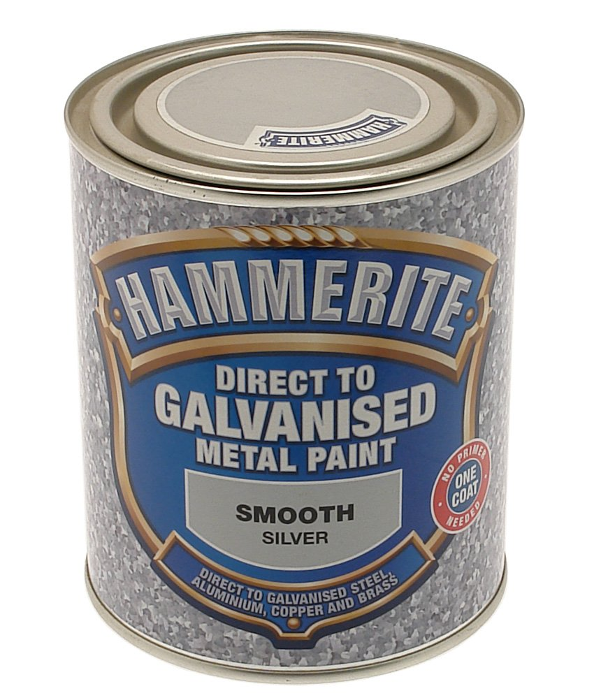 Hammerite 5097049 750ml Direct to Galvanised Metal Paint - Black Hammerite Products ICI Ltd. B003IMKEEY