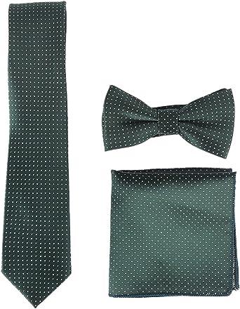 Panegy - Hombre Conjunto de Tie Bolsillo Cuadrado Pajarita ...