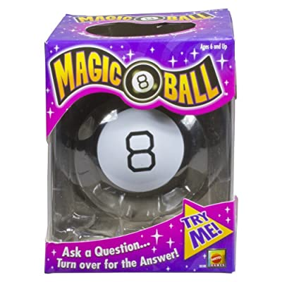 Mattel Games Magic 8 Ball, Black: Toys & Games
