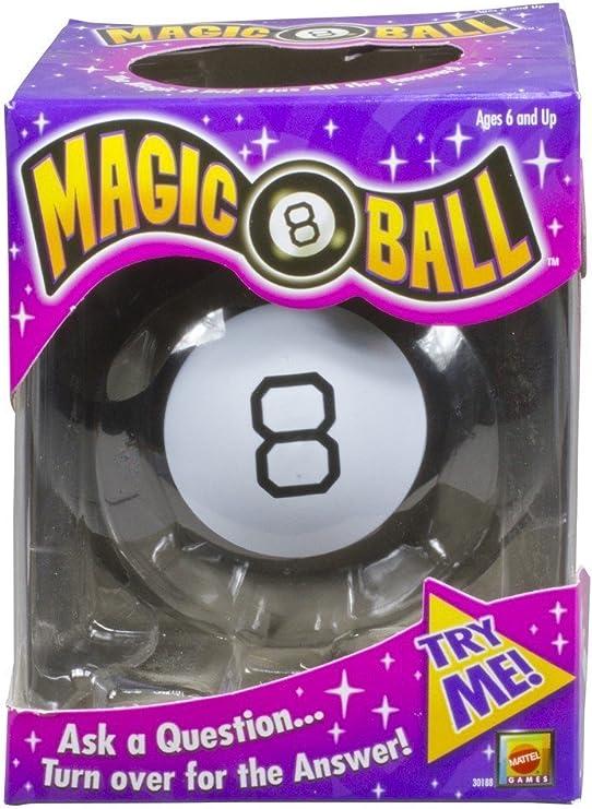 Mattel Bola 8 mágica [versión en inglés]: Amazon.es: Juguetes y juegos
