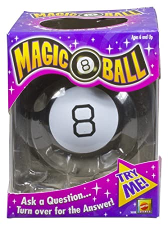 Amazon.com  Mattel Games Magic 8 Ball  Toys   Games 9a7abbd4a
