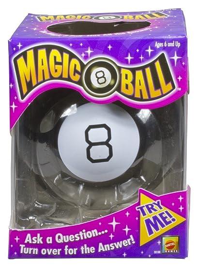 5be115220bbe3 Mattel Bola 8 mágica  versión en inglés   Amazon.es  Juguetes y juegos