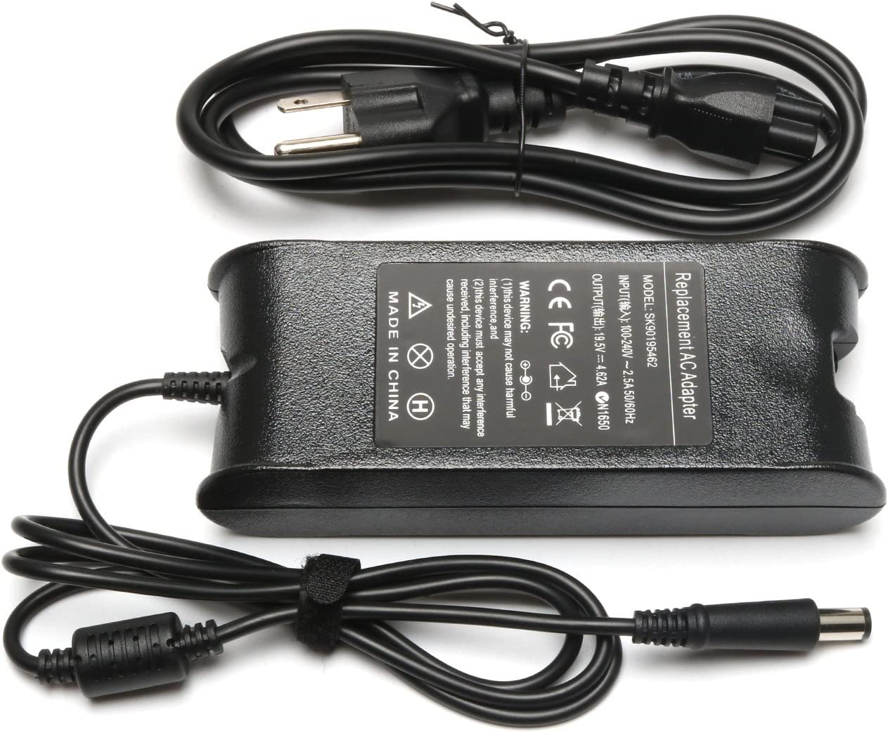 ELECBRAiN 90W PA-10 Replacement Charger for Inspiron M5030 N5010 17 17R 17Z 1720 1750 15 15R 15Z 1564 AC Adapter Power Supply fits PA10