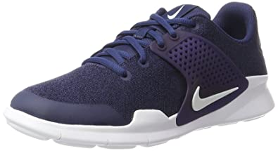 b04934831ac9 Nike Women s Arrowz Sneaker Midnight Navy White Black 6 Regular US