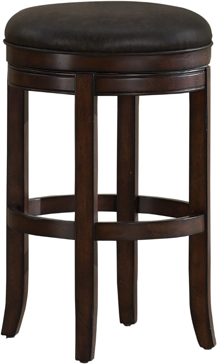 American Heritage Billiards Winston Counter Height Stool, Brown