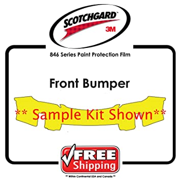 ANY CAR - 3M Scotchgard 846 Series - Front Bumper Paint