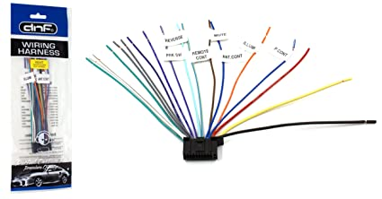 amazon com dnf kenwood wiring harness 22 pin dnx7190hd dnx6190hd rh amazon com kenwood wiring harness best buy kenwood wiring harness diagram colors