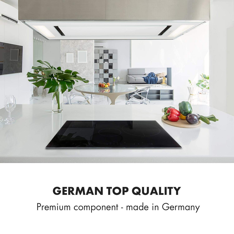 Klarstein Delicatessa 77 Hybrid Placa de cocina - Placa de ...