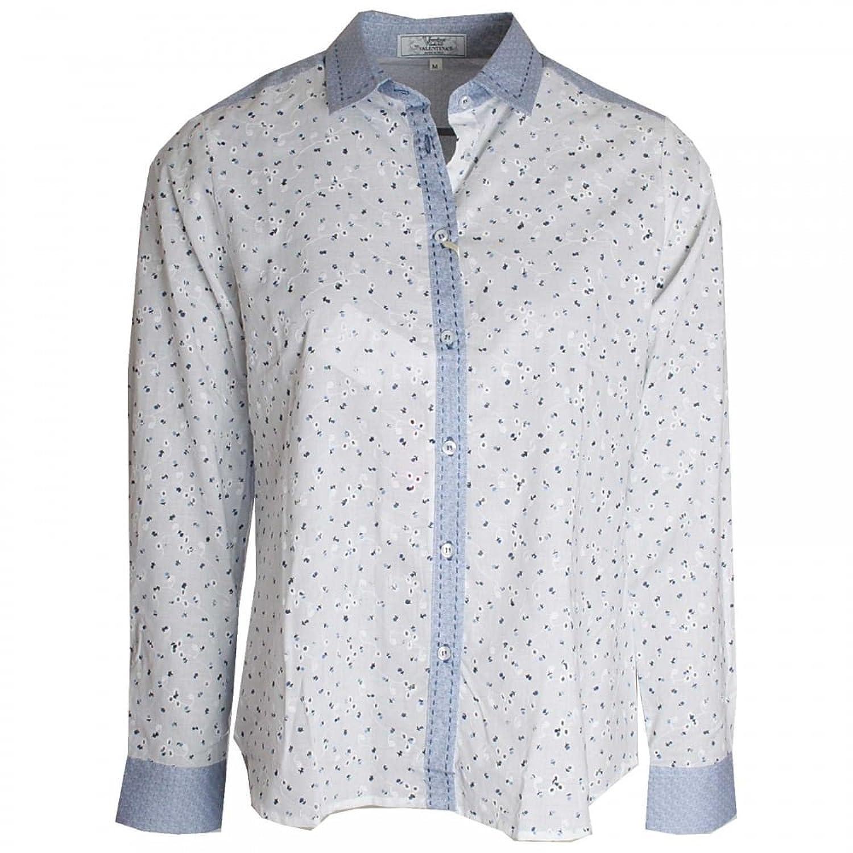 Dani Printed Broderie Anglaise Shirt