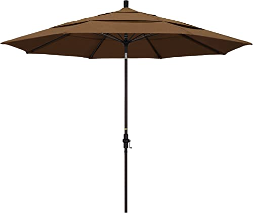 California Umbrella 11' Round Fiberglass Rib Market Umbrella