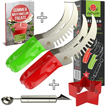 Chef's Path CP-002 Watermelon Slicer Cutter Corer And Server