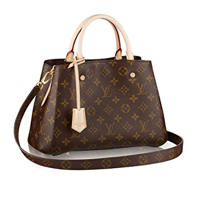 623842dcf781 Louis Vuitton Monogram Canvas Montaigne BB Handbag Article M41055 Made in  France  Handbags  Amazon.com