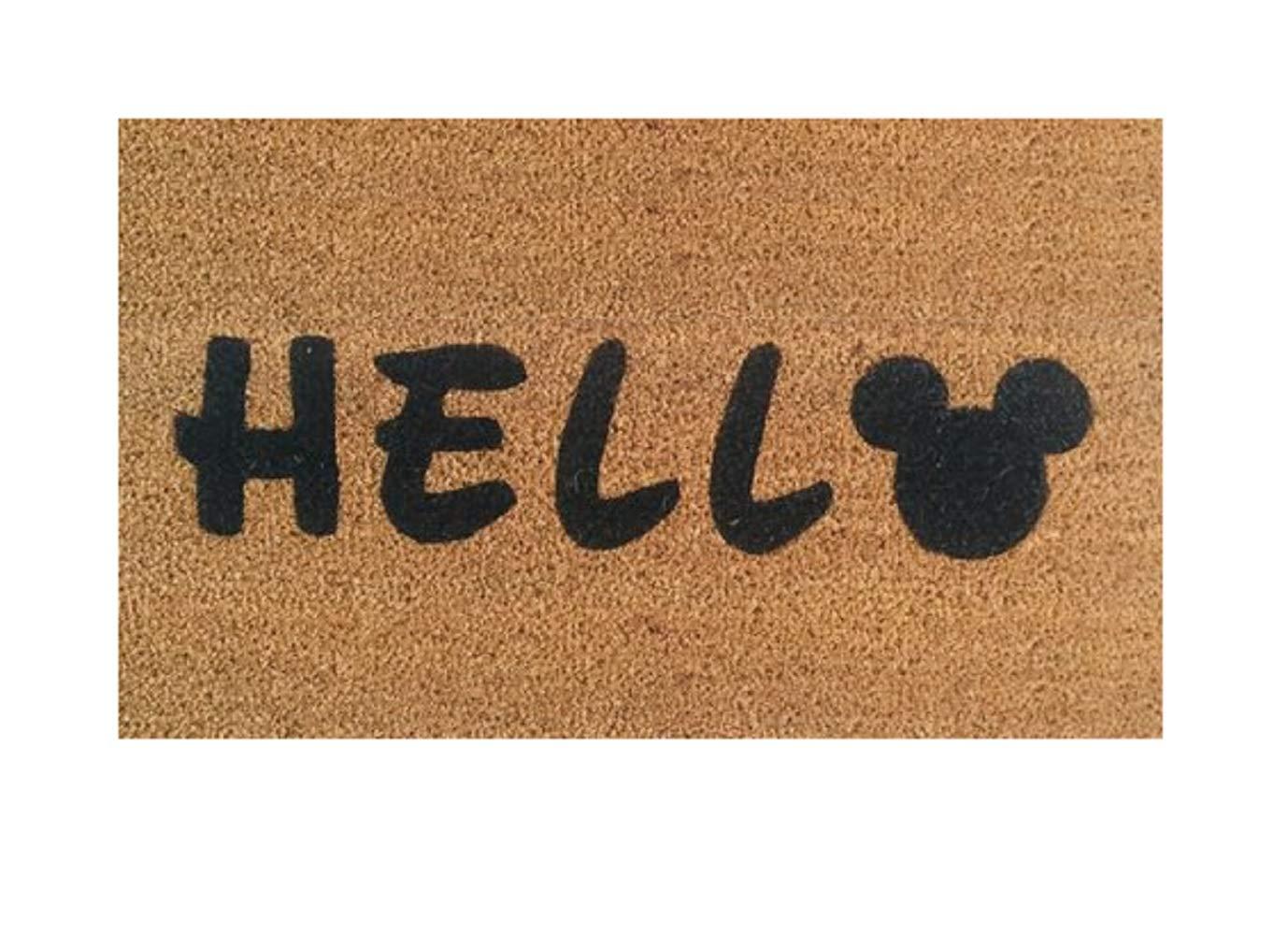 Felpudo de Hello Disney - Welcome Funny Mat - Decoración del ...