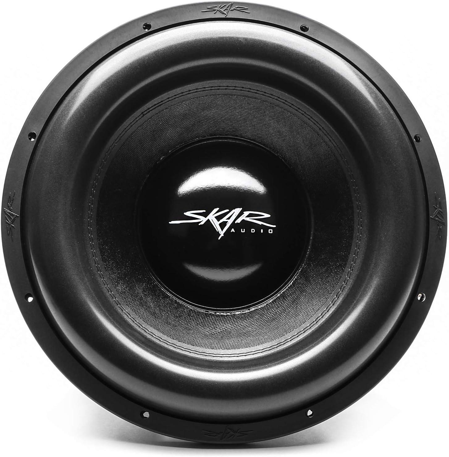 Skar Audio ZVX-12v2 D2 12 3000 Watt Max Power Dual 2 Ohm SPL Car Subwoofer