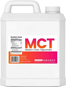 MCT Oil - 1 Liter (32 Oz.) Sustainable Palm Derived - Food Grade - Non GMO - Halal - for Tinctures, Sports Nutrition, Keto or Paleo Diet, Clean Energy