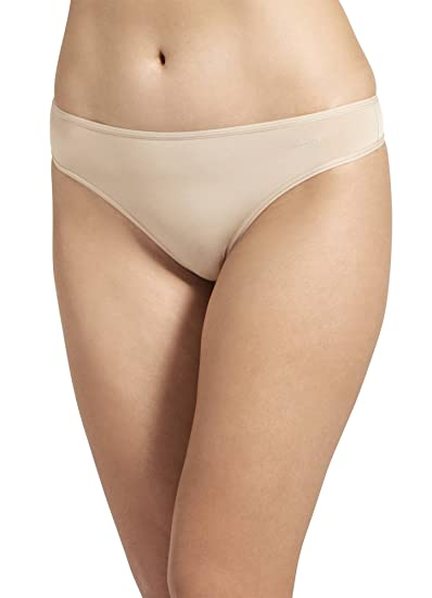 41c1ef31ecf3 Jockey Women's Underwear No Panty Line Promise Tactel Thong at Amazon  Women's Clothing store: