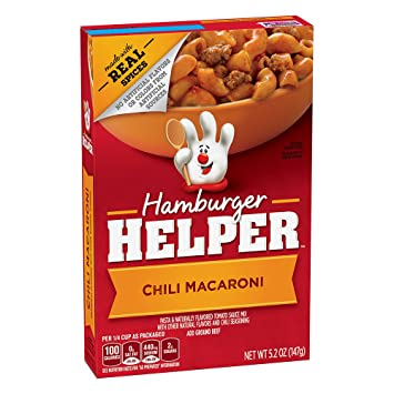 Betty Crocker Hamburger Helper Chili Macaroni 5.2 oz Box