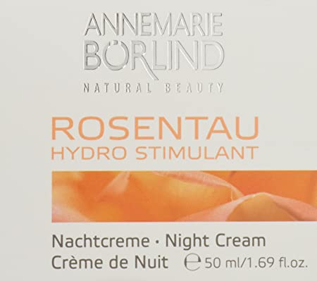 BORLIND Rose Dew Night Cream, 1.69 FZ