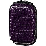 Hama 60 H Croco Hardcase für Digitalkamera violett