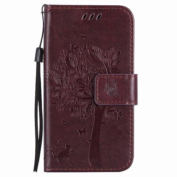 Amazon.com: yiizy Nokia Lumia 635 rm-974 rm-975 Case, Tree ...