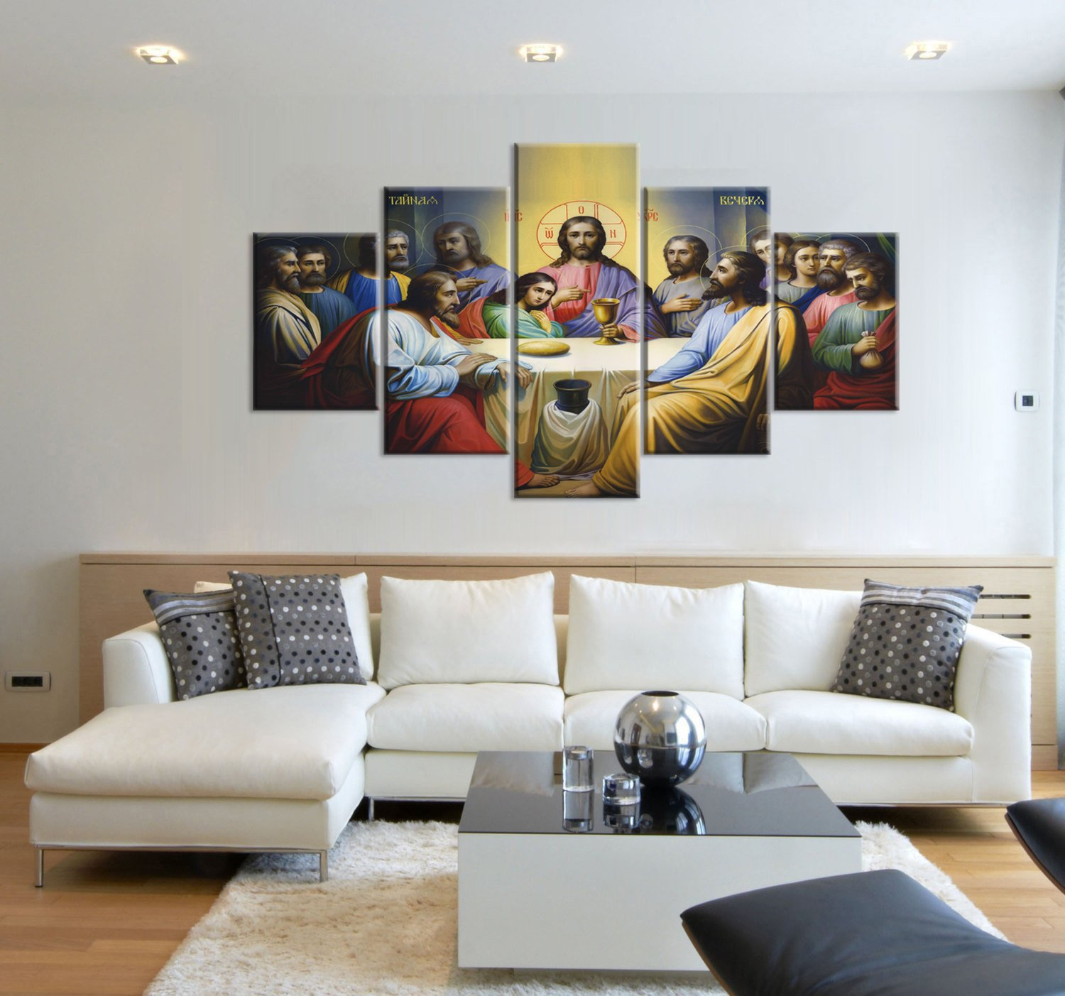 Jesus The Last Supper Wall Art Canvas Prints Art Home Decor for ...