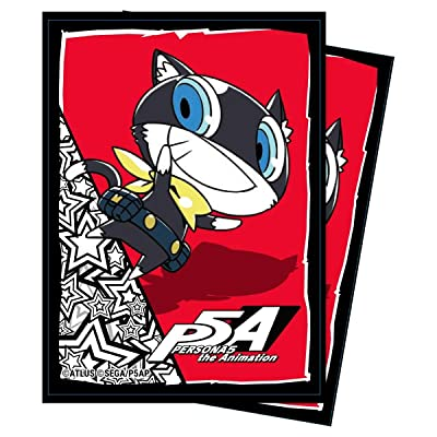 Ultra PRO Persona 5: Morgana Deck Protector Sleeves (65 ct.) for Magic & Pokemon: Toys & Games