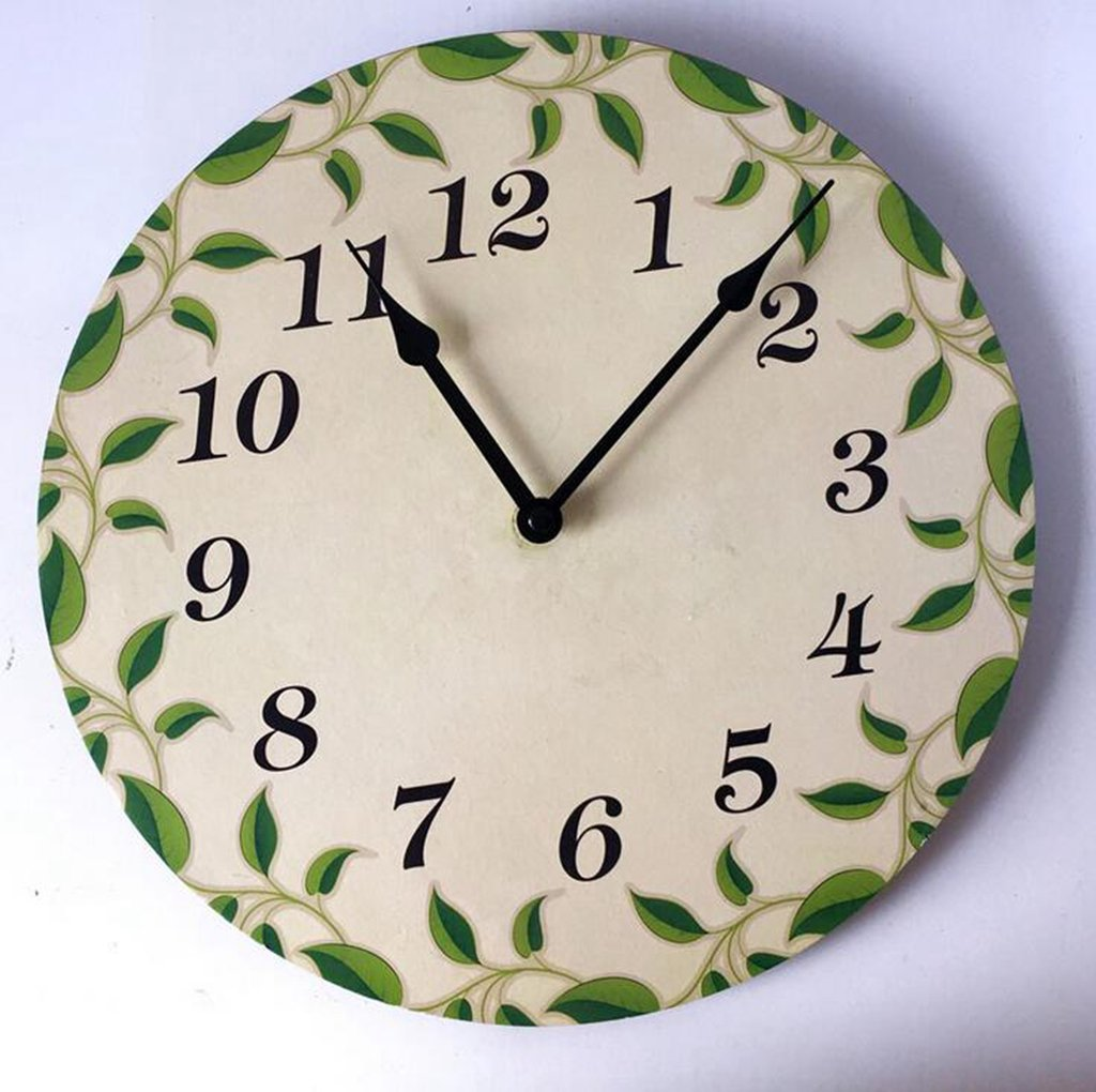 Daeou Elegant home decor, kitchen living room bedroom office wall clock decoration by Daeou (Image #1)