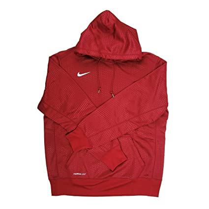 d55567cc7ece Image Unavailable. Image not available for. Color  Nike Therma-fit Men s Maroon  Training Hoodie - Medium