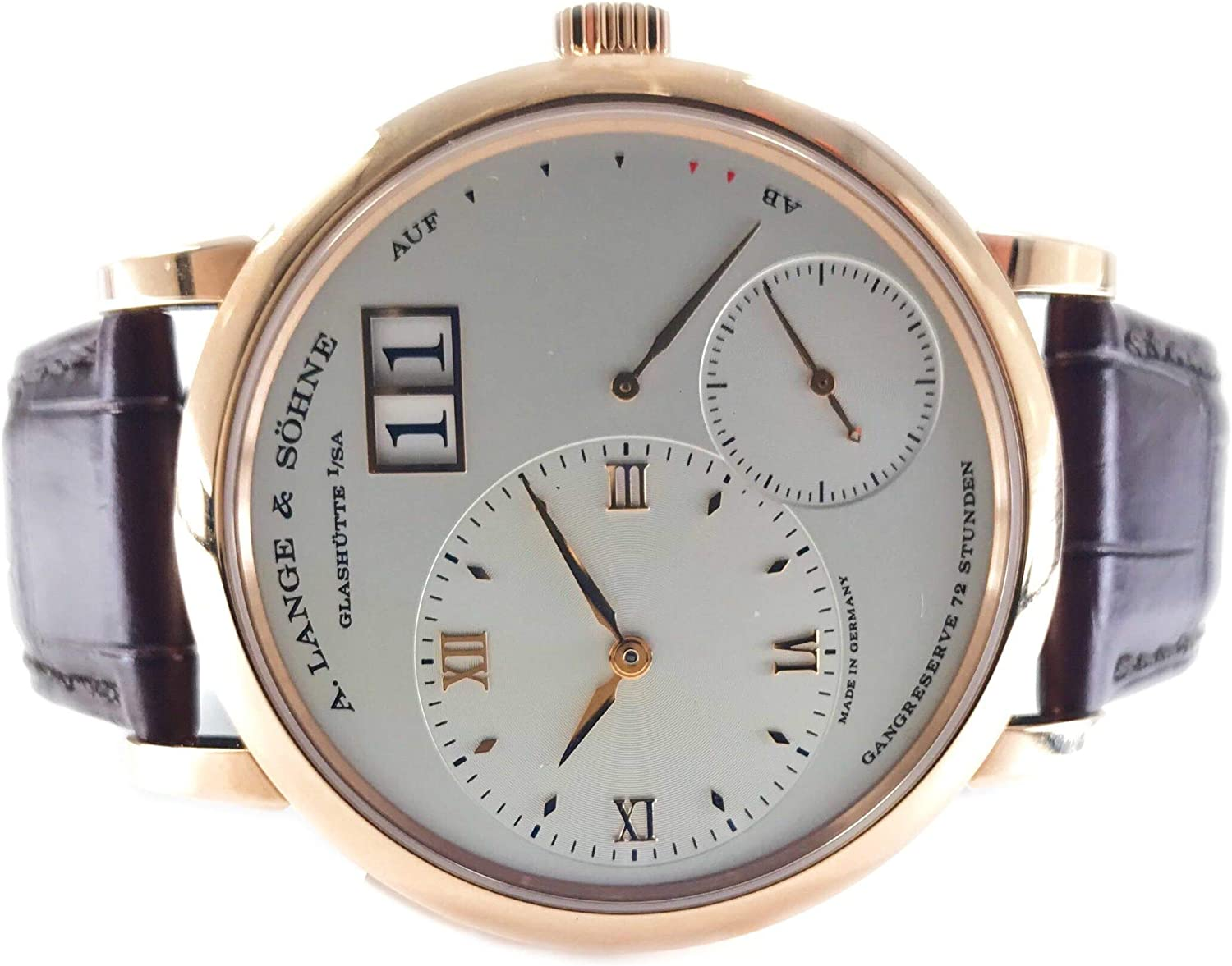 A. Lange & Söhne Grand Lange 1 18K Rose Gold Manual 117.032 - Certified Pre-Owned