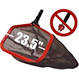 """ProTuff Pool Skimmer Nets - 23.5"""" - Unlimited Free Replacements - Pro Grade is 3X Faster Than Other Cleaning Tools…"""